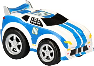 Kid Galaxy Pull Back 'n Roll Race Car. Wind Up Toy Vehicle for Boys, Girls & Toddlers Age 2 & Up Vehicle, 4