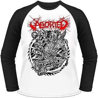 Aborted 'Hellraiser' Long Sleeve Baseball Shirt