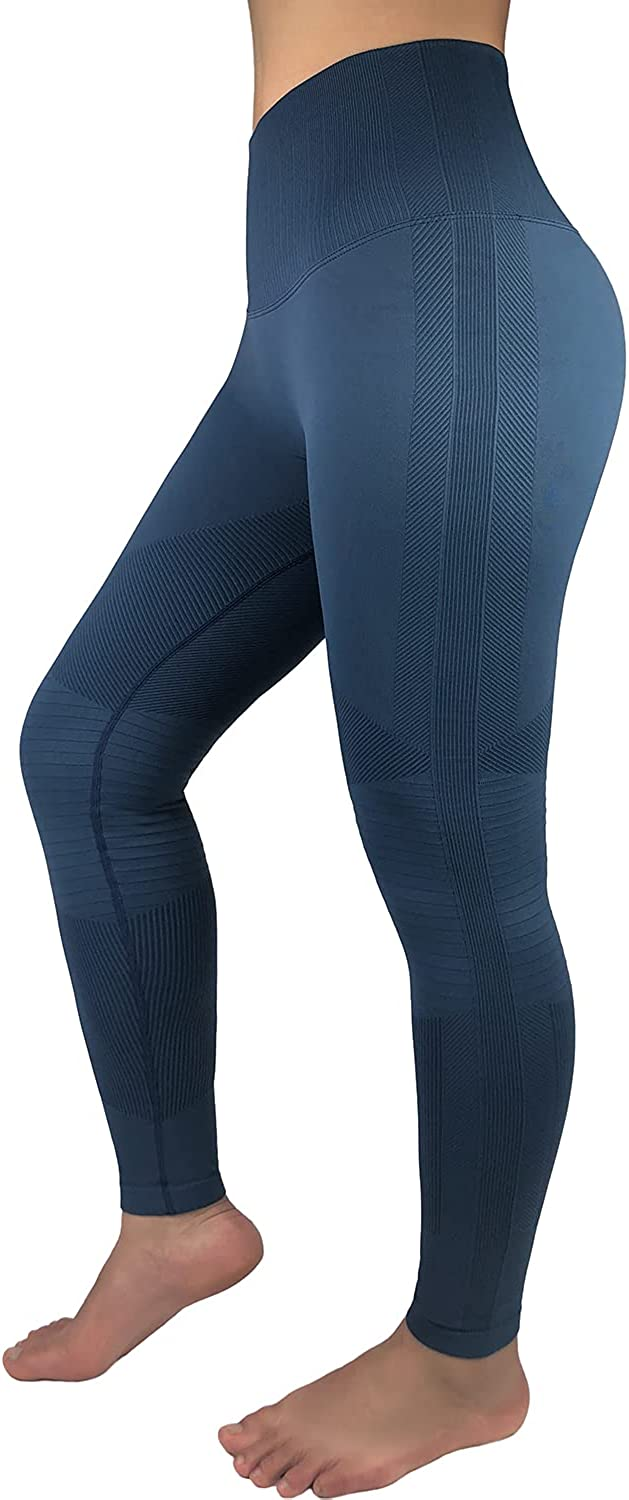 New Shipping Free CNORC High Waisted Leggings for Women Soft Seamless Yoga Li Sales for sale Butt