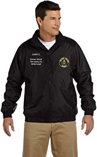 US Army Personalized Custom Embroidered Fleece Jacket