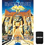 Cyberteez Iron Maiden Powerslave Tapestry Cloth Poster Flag Wall Banner 30' x 40' + Coolie