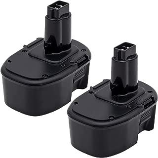 KINGTIANLE Upgraded to 3.6Ah NiMH DC9091 Replacement for Dewalt 14.4V XRP Battery DW9091 DW9094 DE9038 DE9091 DE9092 Replace for Dewalt 14.4 Volt DC DW XRP Series Battery 2 Packs