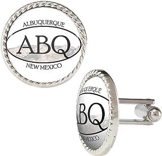 Arthwick Store ABQ Albuquerque New Mexico Pride Sticker Cufflinks