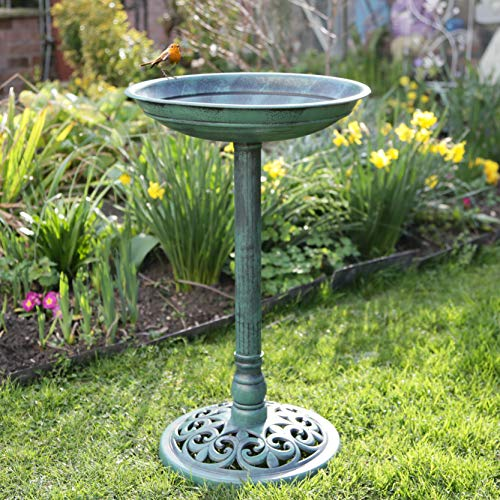 Kingfisher BBATH 63cm Resin Traditional Bird Bath