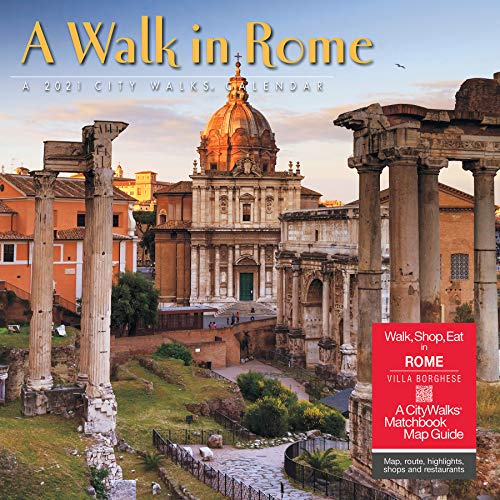 A Walk in Rome 2021 Wall Calendar