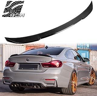 Real Carbon Fiber Rear Trunk Spoiler For 13-18 3er F30 Sedan/ F80 M3 (CS Type)