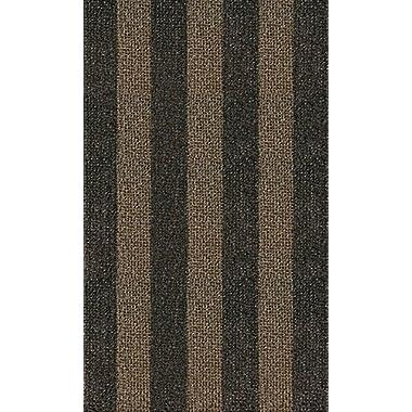 Grassworx Clean Machine Patriot Stripe Doormat for Double-Doors, 36  x 60 , Desert Taupe (10372009)