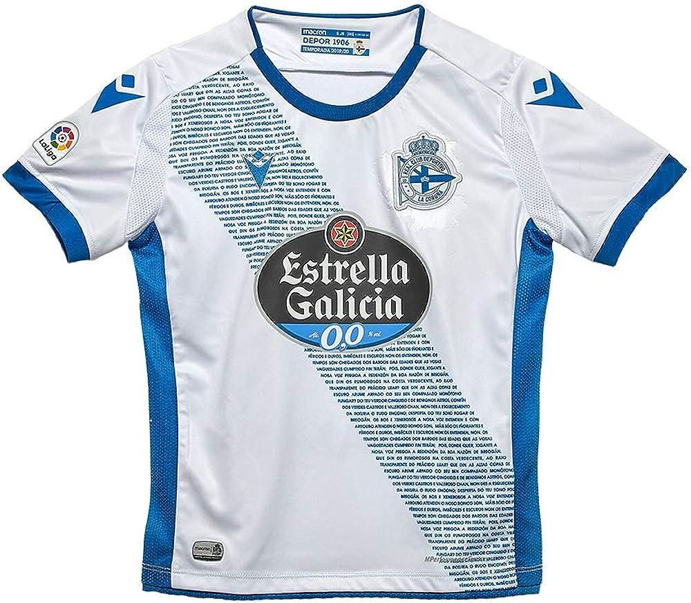 RC Deportivo Camiseta Infantil 3ª Equipación 2019/20 Camiseta Niños