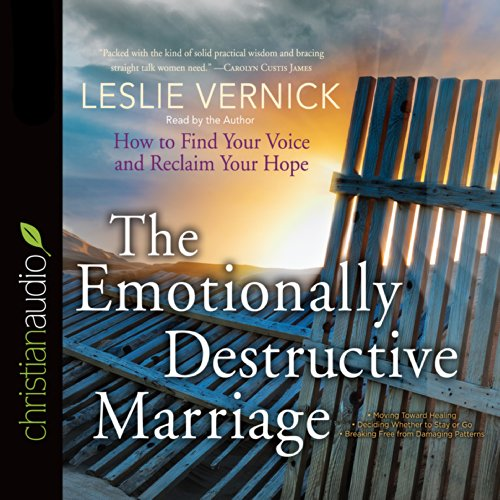 The Emotionally Destructive Marriage cover art