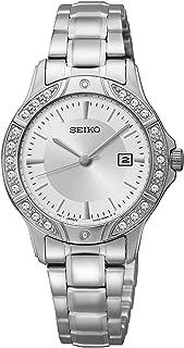 Seiko Three-Hand Silver-Tone Stainless Steel Women's watch #SUR853