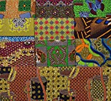 Stoffe, afrikanisches Wachsmaterial zum Nähen, Quilten,