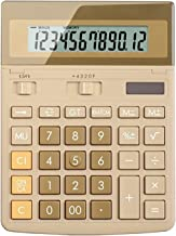 $58 » Office Electronics Solar Powered Calculator 12-Digit Calculator Large Screen Display Large Buttons Accounting Office Desig...