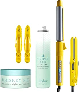 Drybar The Texture Toolkit- Tiny Tress Press Detailing Iron, 3-day Bender Curling Iron, and more!