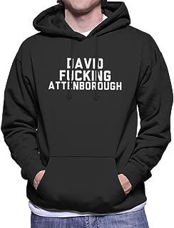 Coto7 David Fucking Attenborough Men's Hooded Sweatshirt