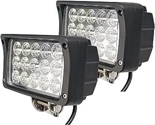 OUTAD impermeabile bicicletta cerchioni illuminazione con 32/LED ultra luminosi e 32/Multi Colorata cambiamenti Bicicletta ha parlato luce 2/modi CCD di certificazione