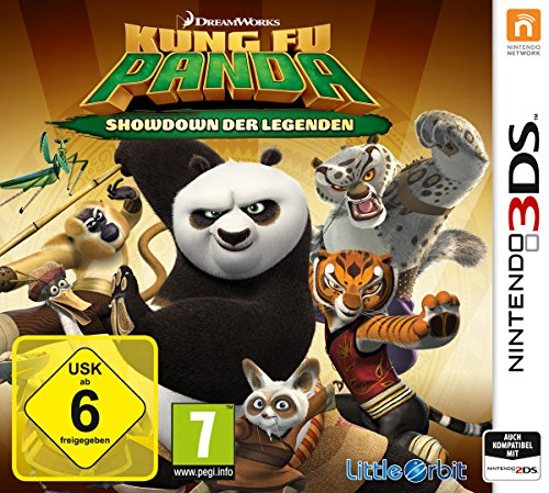 Kung Fu Panda - Showdown der Legenden - [Nintendo 3DS]