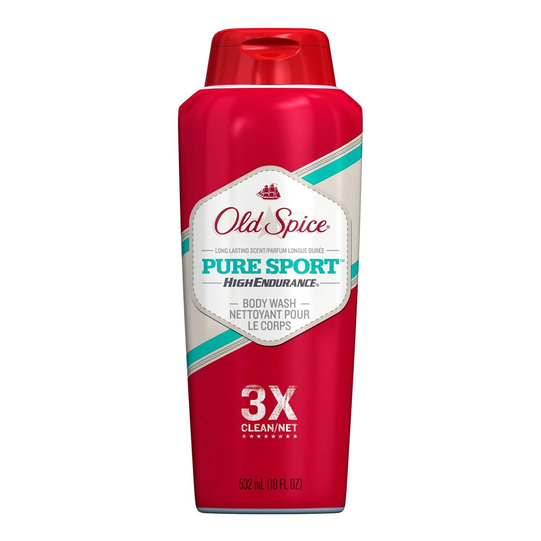 Old Spice High Endurance Body Wash Pure 532 Regular store 18 oz Sport Tucson Mall ml fl