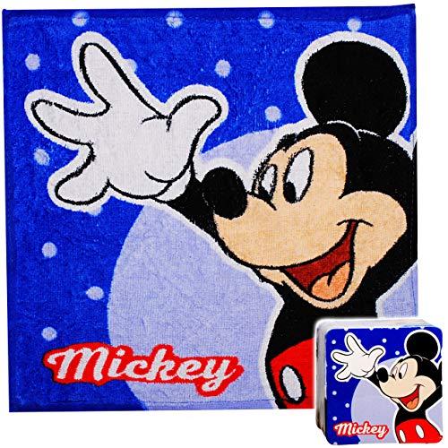 alles-meine.de GmbH magischer Waschlappen / Handtuch - Zauberwaschlappen - Disney - Mickey Mouse - Frottee aus 100 % Baumwolle - Magic Towel - Waschfleck - Waschtuch - Waschhands..