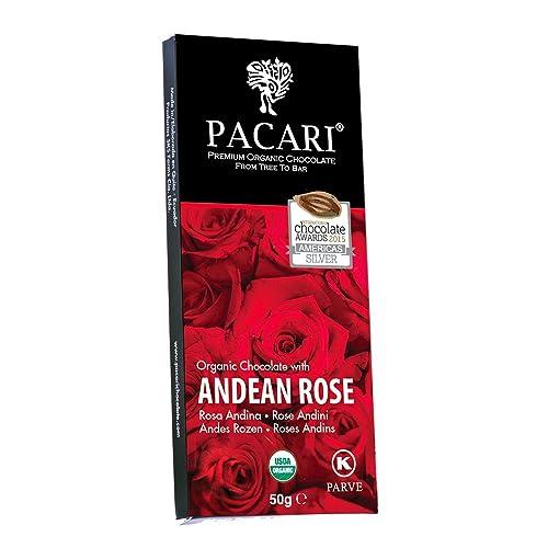 Pacari Roses Organic Chocolate Bar