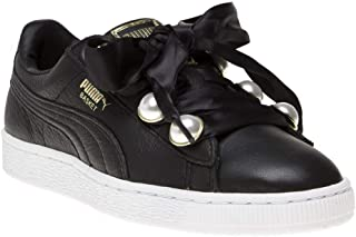 PUMA Basket Bling Womens Sneakers Black