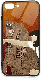 man punching bear iphone case