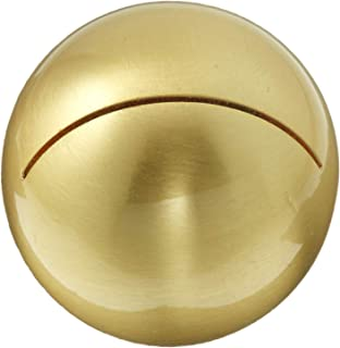 Weddingstar 6071-55 Classic Round Place Brushed Gold Card Holder, 0.4 x 1 x 1 inches