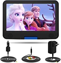 """DR. J 12.5"""" Portable DVD CD Player 10.5"""" HD Swivel Screen with 5 Hours.."""