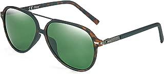 Polarized Aviator Sunglasses for Men Women UV400 Protection TR90 Frame Ultra Light Pilot Shape Glasses