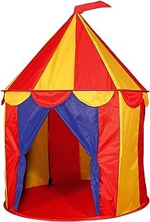 POCO DIVO Red Floor Circus Tent Indoor Children Play House Outdoor Kids Castle