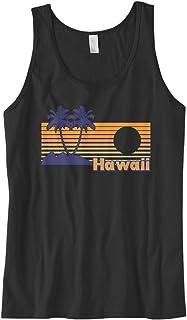701486d3f8a41 Cybertela Men s Hawaii Hawaiian Hi Sunset Beach Palm Tree Tank Top