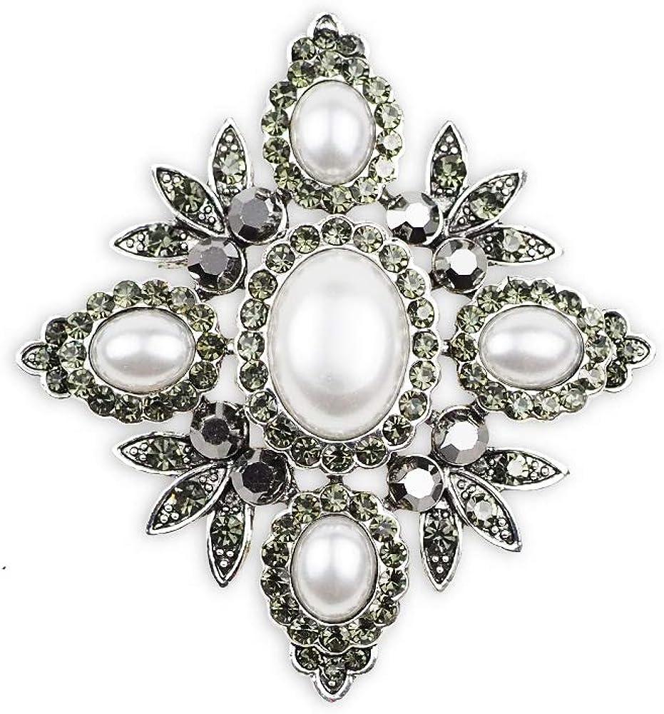 HouseMao Women's Brooch Max 69% OFF Fashion Pins Pendants 1—Rococo in Vi 2
