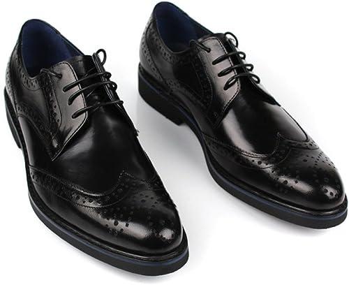 ZPFME schuhe Oxford Para herren schuhe Ocasionales Con Cordones Formal Para herren schuhe Bajos De Cuero Para Oficinas