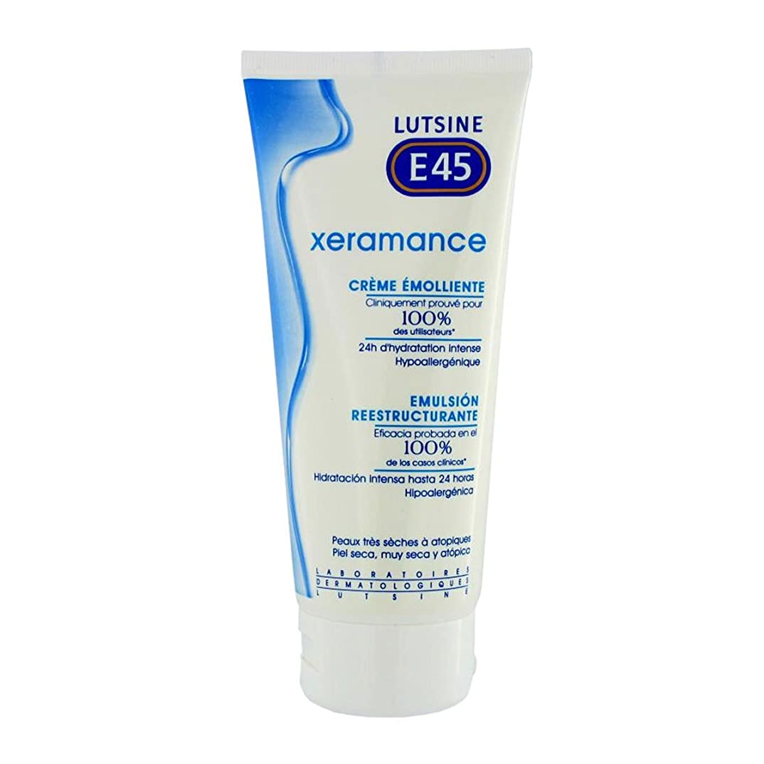 気難しい手当ドライLutsine Xeramance Emollient No Perfume 400ml [並行輸入品]