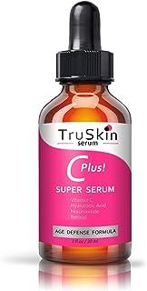 TruSkin Vitamin C-Plus Super Serum, Anti Aging Anti-Wrinkle Facial Serum with Niacinamide, Retinol, Hyaluronic Acid, and S...