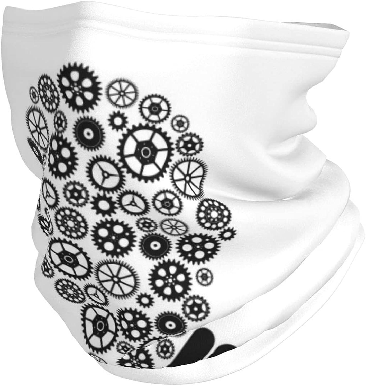 Adult Warmer Multifunctional Headwear Bandana Gear Bulb Idea Thought Innovation Neck Gaiter for Men & Women