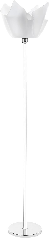 Iplex Design Drappeggi dAutore Piantana fum/é Trasparente Plexiglass//PMMA 36x36x190 cm