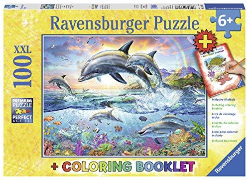 Ravensburger Kinderpuzzle 13697 - Bunte Unterwasserwelt - 100 Teile