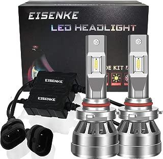 EISENKE 9005 9006 HB3 HB4 Led Headlight Bulbs For auto Cars Super Bright high beam low beam 40W 8000lm 6000K Xenon white