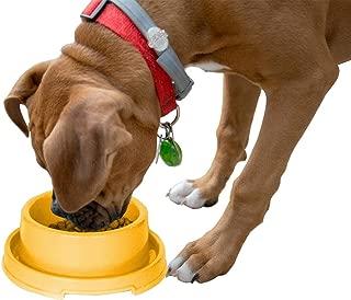 PetLike Plastic Dog Bowls, Pet Feeding Bowl for Cat Puppies Anti Ants Water Food Feeder Dish
