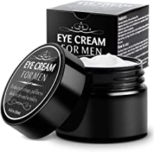 Eye Cream for Men-Kinbeau Eye Cream for Men,Anti-Aging Eye Cream,Total Eye Balm To Reduce Puffiness, Wrinkles, Dark Circles and Under Eye Bags (Black)