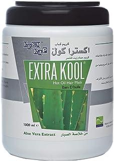 Krem Kap Extra Kool Hot Oil Hair Mask - Aloe Vera Extract, 1000ml