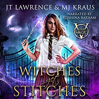Witches Get Stitches cover art