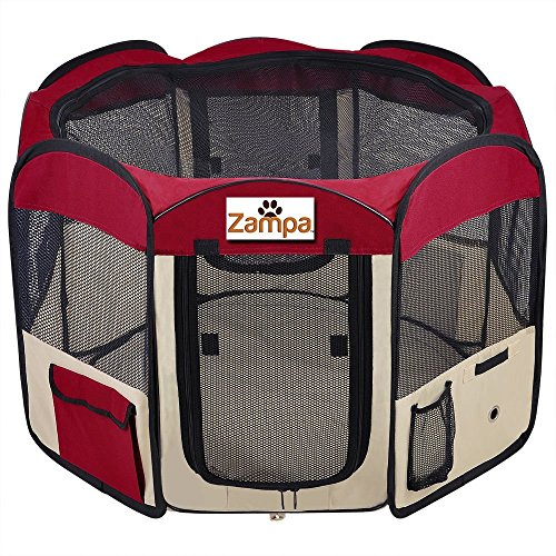 Pet 45 Playpen Foldable Portable Dog/Cat/Puppy Exercise Kennel For Small...
