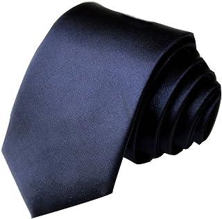 2766dcacf1798 ILOVEDIY Cravate Slim Hommes 5cm - Cravates élegante mince faite à la main  pour costume mariage