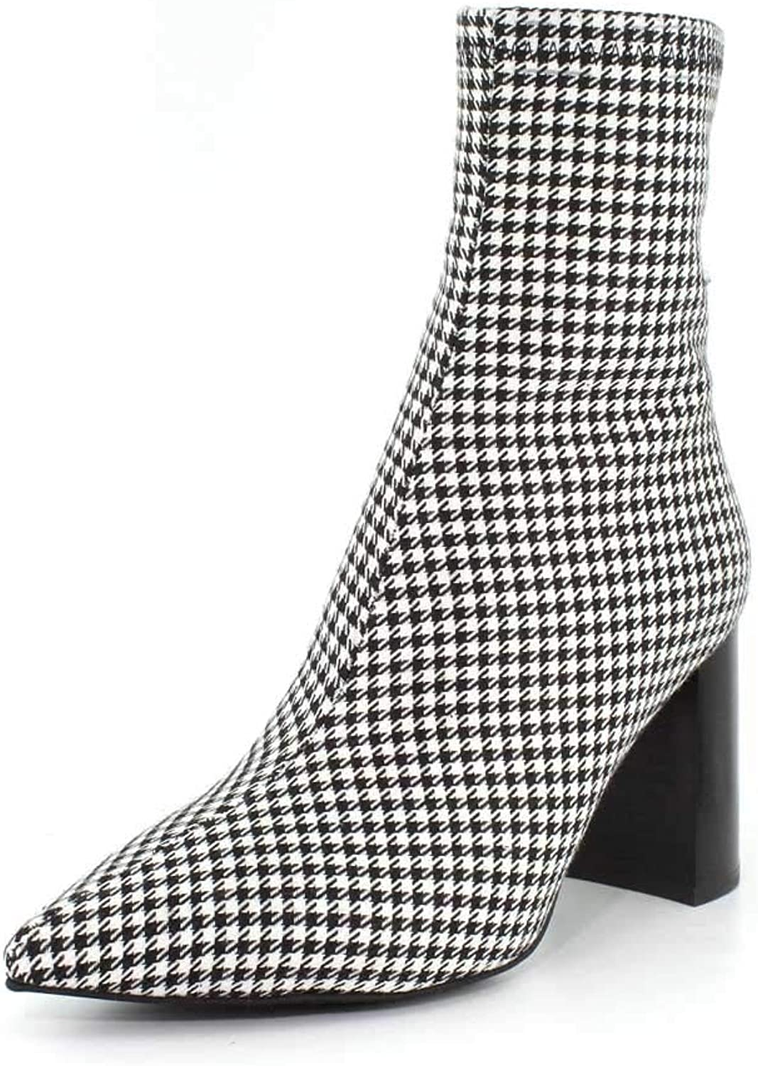 Jeffrey Campbell Womens Siren-3 Pointy Toe Ankle Boot