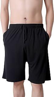 Dolamen Men's Pyjamas Bottoms Shorts Modal Cotton, Nightwear Underwear Boxer Casual Trunks Trousers Pants with Adjustable ...