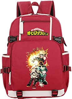 Tauras Anime My Hero Academia Cosplay Backpack Student Daypack Laptop Bag College Bag Fashionable 3D DIY Lightweight Large Space Anti-Dirt Schoolbag Should Bag Message Bag-17