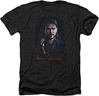 Penny Dreadful Ethan Unisex Adult Heather T Shirt for Men and Women