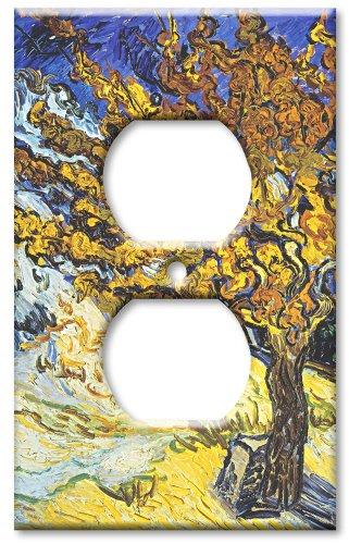 Placca copri uscita - Van Gogh: Mulberry Tree