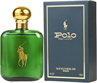 Ralph Lauren Pòlò Green Eau de Toilette Natural Spray, for Man EDT 4 fl oz, 118 ml